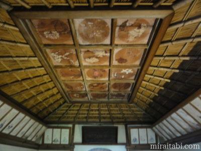翁堂の天井画