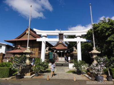 金比羅神社と太宰府天満宮