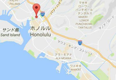 出雲大社の地図