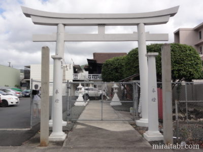 石鎚神社の鳥居
