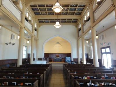 マキキ教会の祭壇