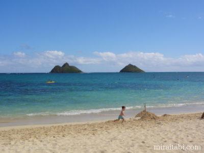 島とビーチ