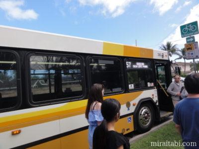 57番のバス