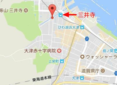 琵琶湖疏水の地図