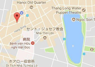 両替商の地図