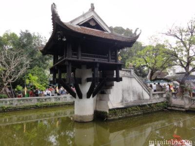 ハノイの一柱寺