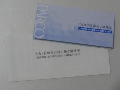 パルコの株主優待特典