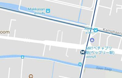 ARTマッカサン駅の地図
