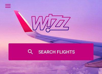 wizz airの航空券検索