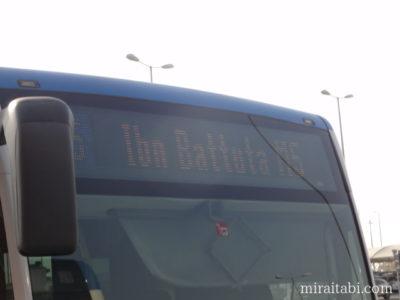 ドバイのバス