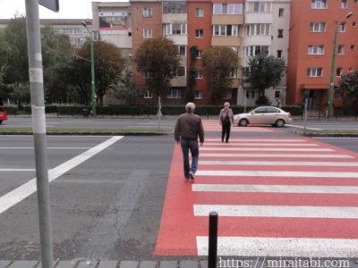 ブラショフの横断歩道