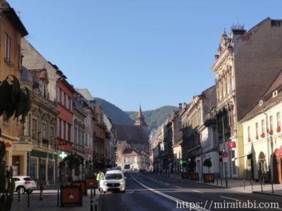ブラショフの町並み