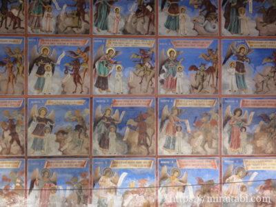 リラの僧院のフレスコ画
