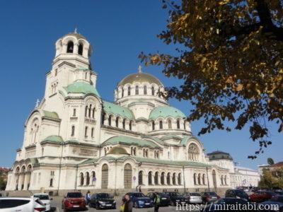 アレクサンドル・ネフスキー大聖堂 ソフィア ブルガリア