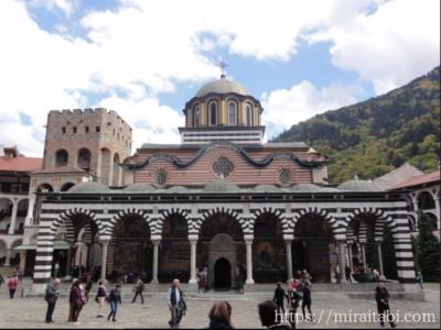 ブルガリアのリラの僧院