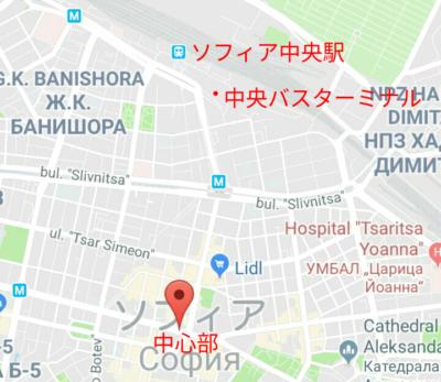 ソフィアの地図