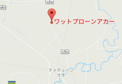 チャチュンサオの地図