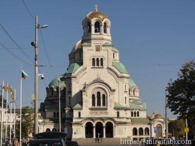 ソフィアのアレクソサンドル・ネフスキー大聖堂