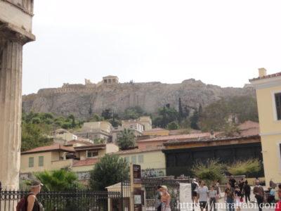 アテネ アクロポリスの丘