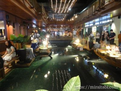 アイコンサイアム高島屋の水上マーケット