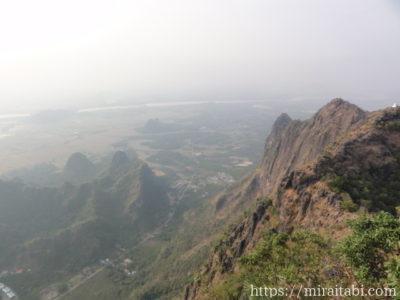 ヅウェカビン山からの眺め