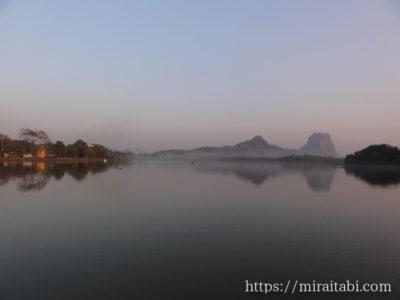 カンターヤー湖