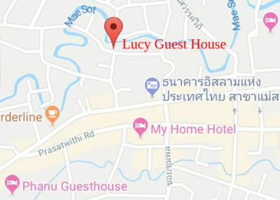 ゲストハウスの地図