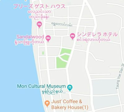 Just' Coffee&Bakery-Houseの地図