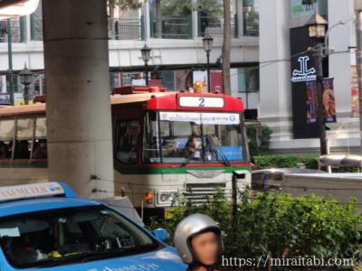 バンコクの2番バス