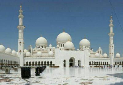 アブダビのシェイクザーイドモスク