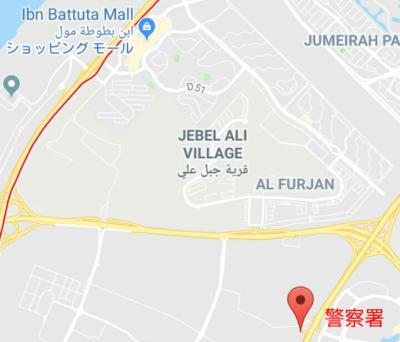 警察署の地図