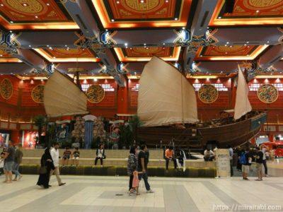 中国の古い船