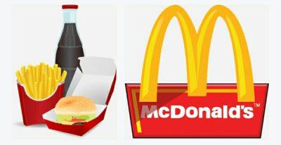 マクドナルドのセットメニュー