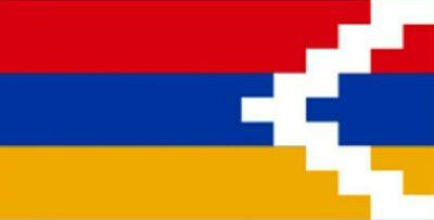 ナゴルノカラバフの旗