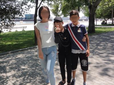 アゼルバイジャンの子供達