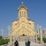 ジョージア・トビリシのツミンダサメバ大聖堂