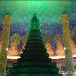 タイ・バンコクのワットパクナム仏塔