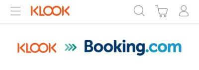KLOOK経由Booking.comのホテル予約