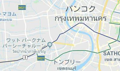 ワットパクナムの地図