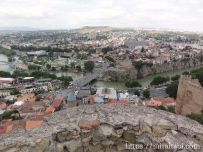 トビリシの景色