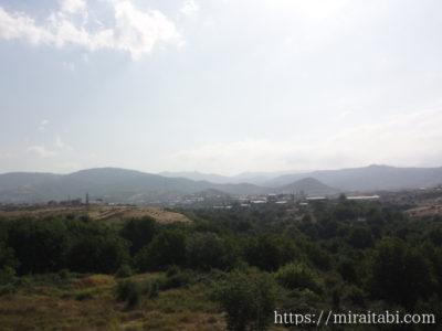 我らが山から見た風景