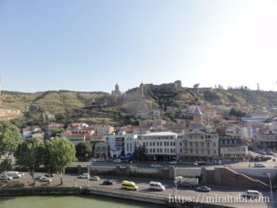 トビリシの旧市街の風景