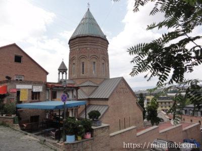 トビリシ・旧市街の教会