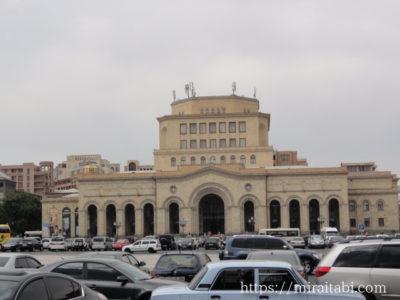 共和国広場の建物
