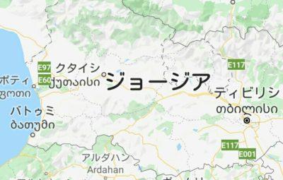 バトゥミの地図