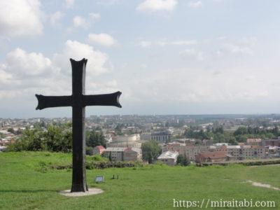 十字架と風景