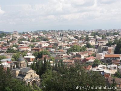 バグラティ大聖堂からの眺め