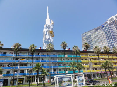 カラフルな建物