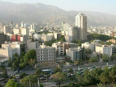 イランのテヘラン