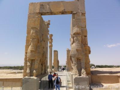 ペルセポリス遺跡のクセルクセス門